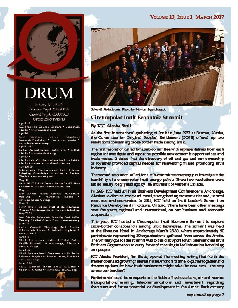 Drum Newsletter